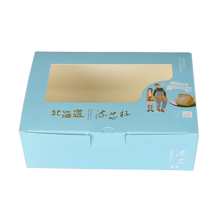 creative design folding paper box recycled paper cardboard food disposable packaging box