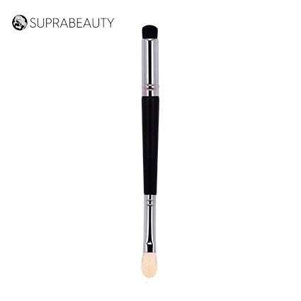 Makeup brushes private label dual end blending Eyeshadow/eyebrow brush for sale