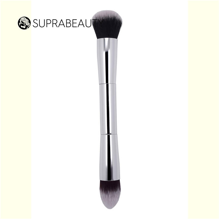 Wholesale Customized 5 Pieces Double Ended Private Label Travel Make Up Brush Set
