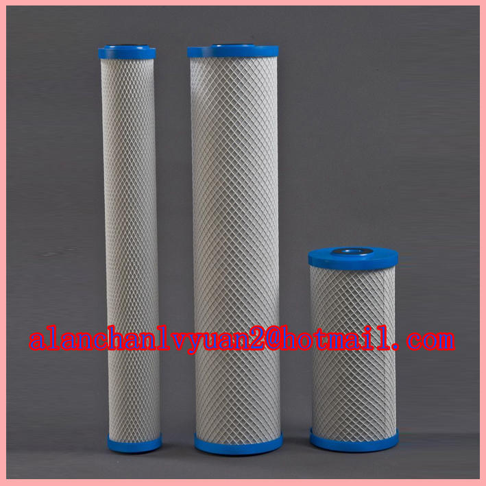 sintered activated carbon filter/cto carbon block effective