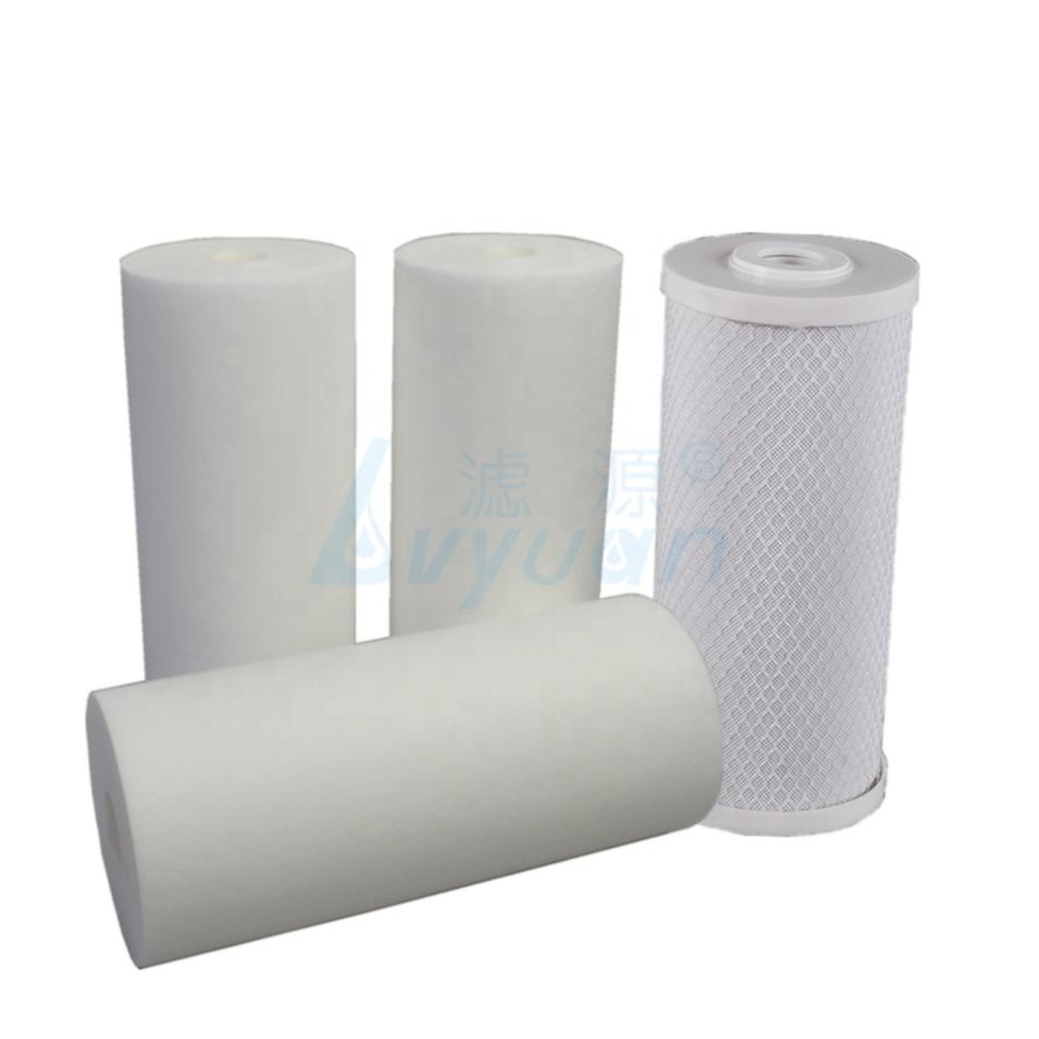 sediment water filter filtro agua 4.5 x 10 inch20 inch filter cartridge for water purification