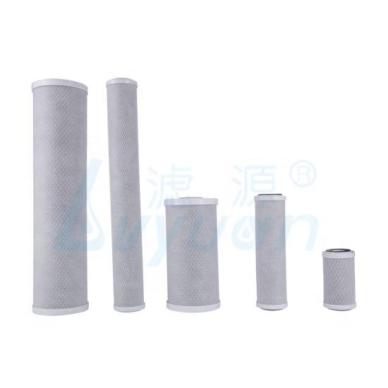 5/10/20 inch cto carbon block water filter cartridgefor purify water and house water with 5 10 25 micron