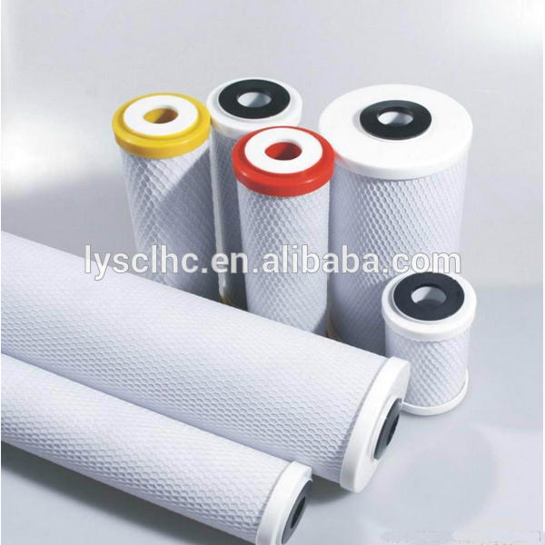 OEM drinking water filter cartridge PP UDF CTO RO post carbon for home RO water filter purifier