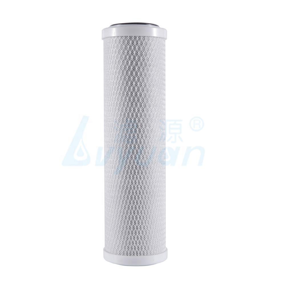 cto carbon block water filter cartridge 5 10 20 30 40 inch for liquids filtration