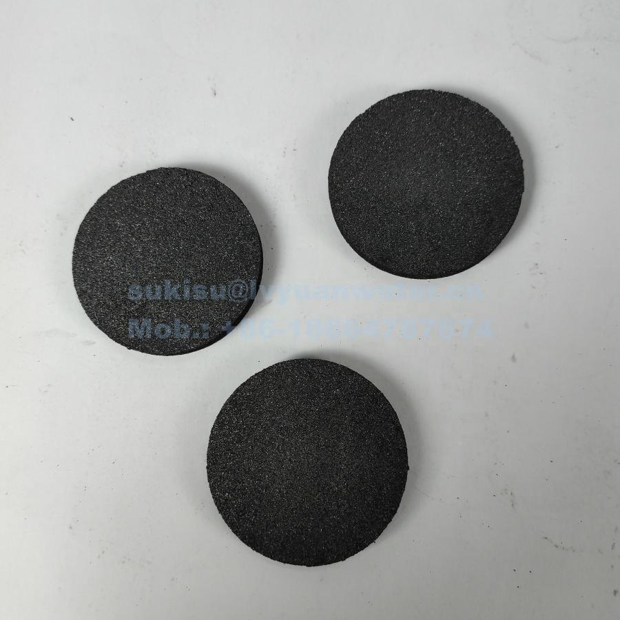 Factory Custom Activated Carbon air filter disk carbon water filter for portable bottle drinking water air filtration discs