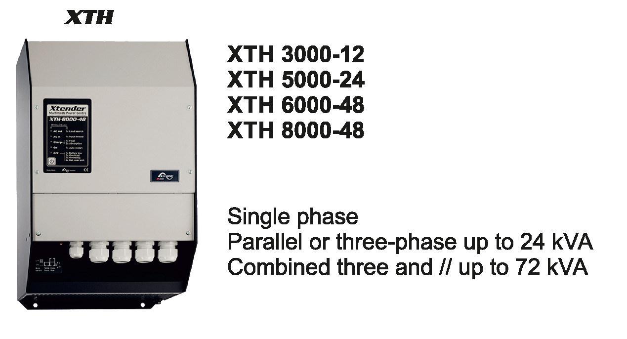 Studer Xth5000-24 Inverter Pure Sine Wave 5000W 10kw 15kw 30kw 45kw