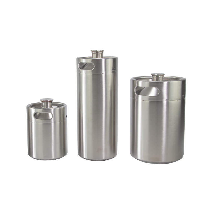 5l mini keg carbonation 60 psi price cap 304 stainless growler beer spear