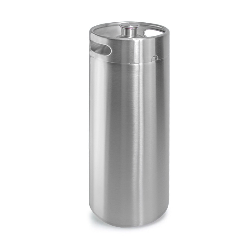coolest stainless steel countertop dispenser craft cool mini beer keg growler