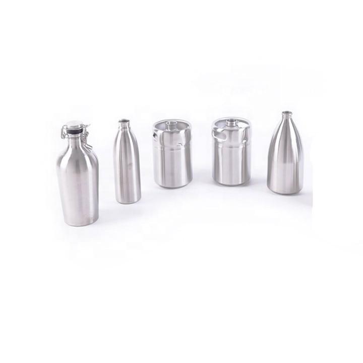Stainless Steel1L 2L 3.6L 4L 5L 10L Beer Growler Mini Keg