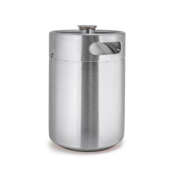SSKEG-G2L Stainless Steel Competitive Pice Customized Logo Mini Keg Growler