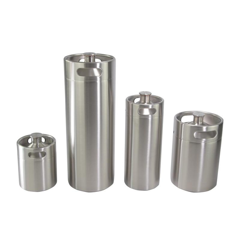 stainless steel 2l 4l 5l mini beer barrel keg growler