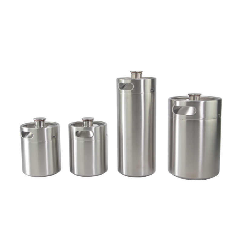 Wholesale New Style Latest Design refill 5l mini keg 5 liters Stainless beer kegs