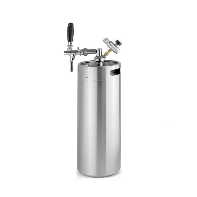 small wine barrels stackable stainless steel beer bottle keg growler price