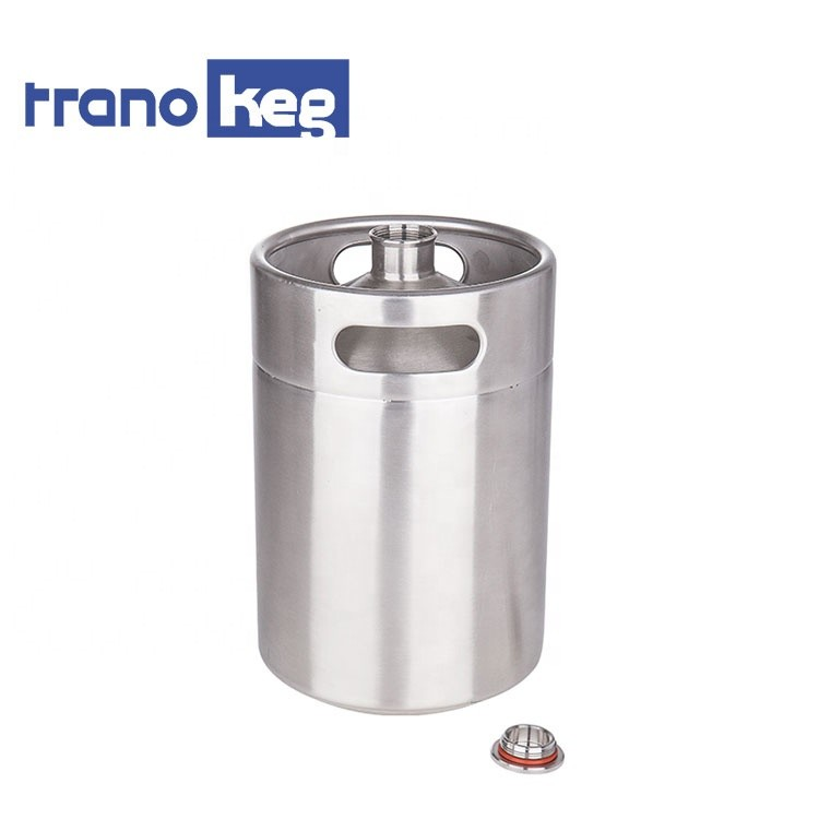 High quality stainless beer growler brewing equipment 2L beer keg