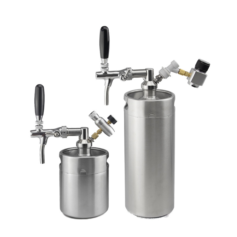 2019 hot sale beer growler with co2 tap set