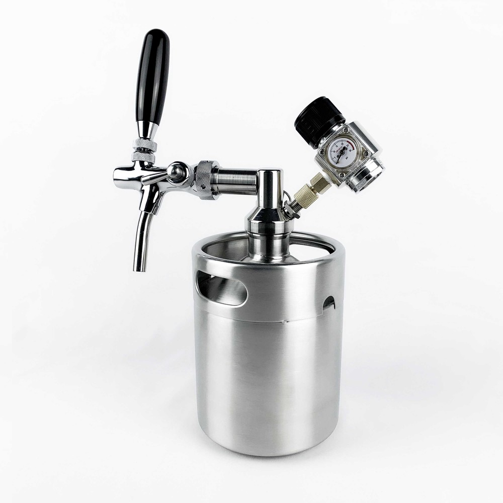 2019 Hot Sale Best Price Good Feedback Beer Growler With Co2 tap