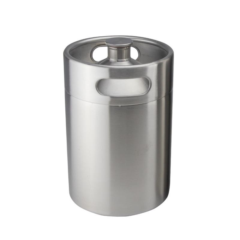 4l 128oz stainless steel 304 growler mini beer kegs