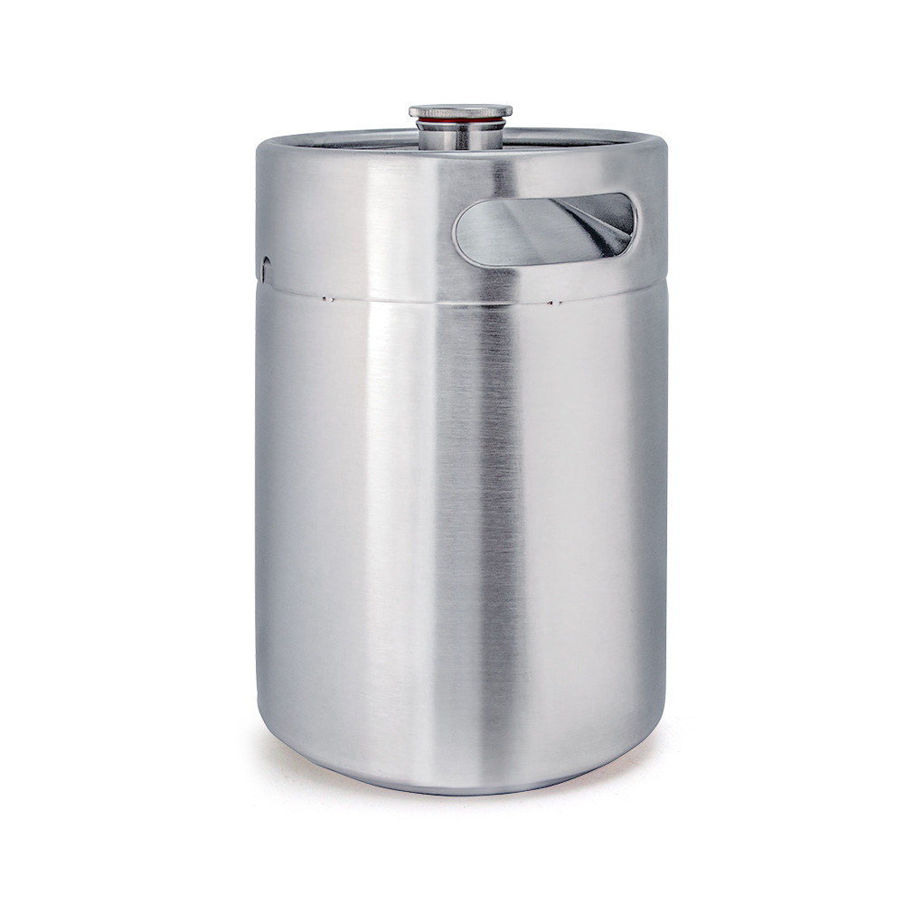5l 304 stainless growler beer spear mini keg carbonation 60 psi price cap