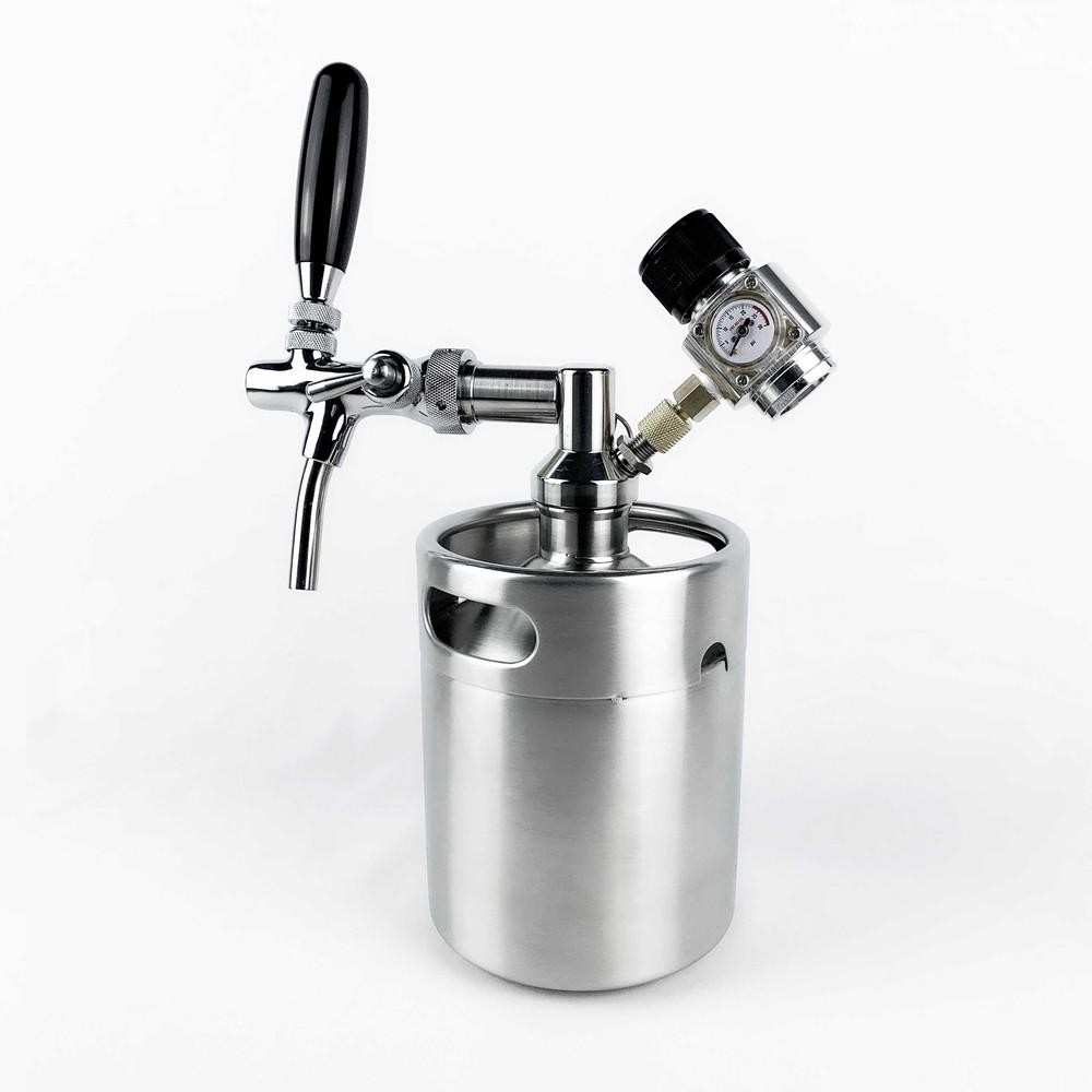 2l stainless steel beer kegs inox growler