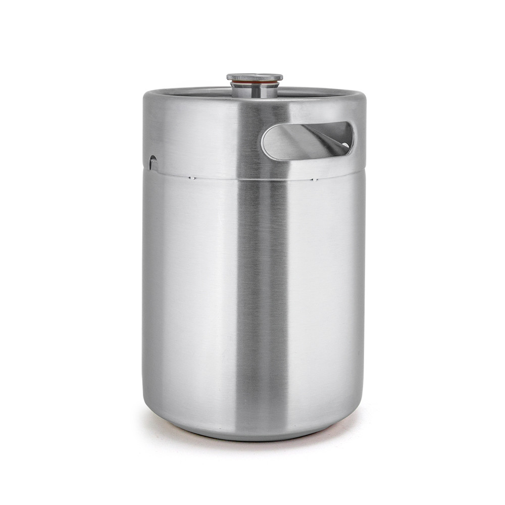5 l liter stainless steel beer cooler keg growler with tap spear ball lock