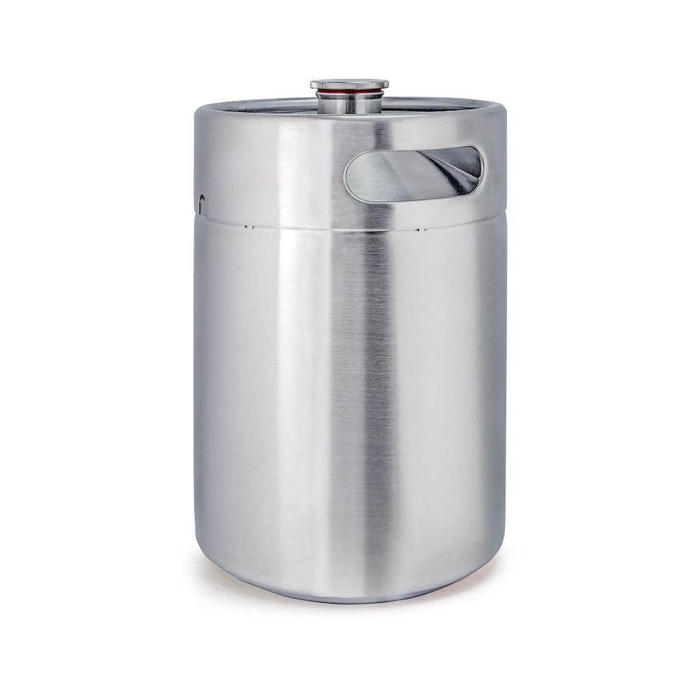 5l beer drums barrel can dispenser for barbeque easy keggrowler with handle