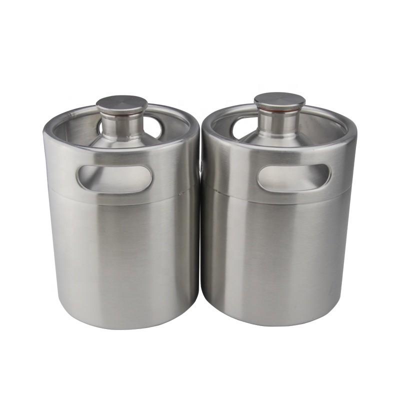 Quality-Assured Empty 2 Liter Growler Manufacturer