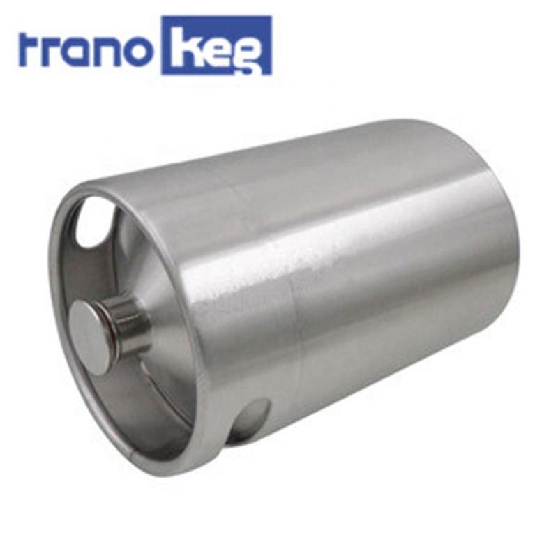 wholesale stainless steel 5 liter craft beer growler