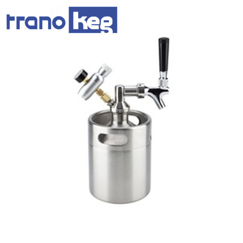 Best Price Good Feedback Beer Growler With Co2 tap
