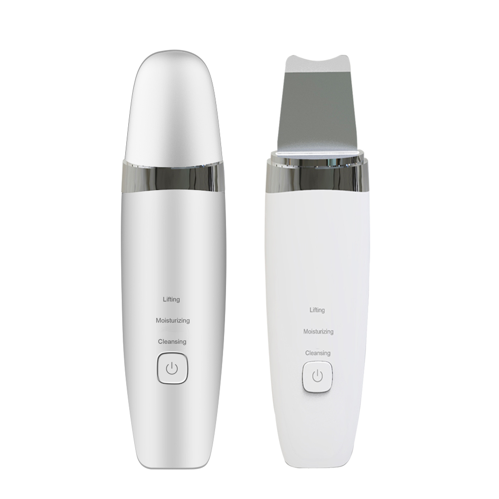 Professional portable sonic spatula face ionic peeling beauty machine facial ultrasonic skin scrubber