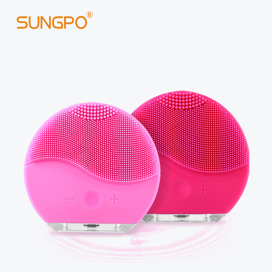 Silicone Facial Cleansing Brush with Deep Cleansing Pore Remover SUNGPO Manufacture High Quality