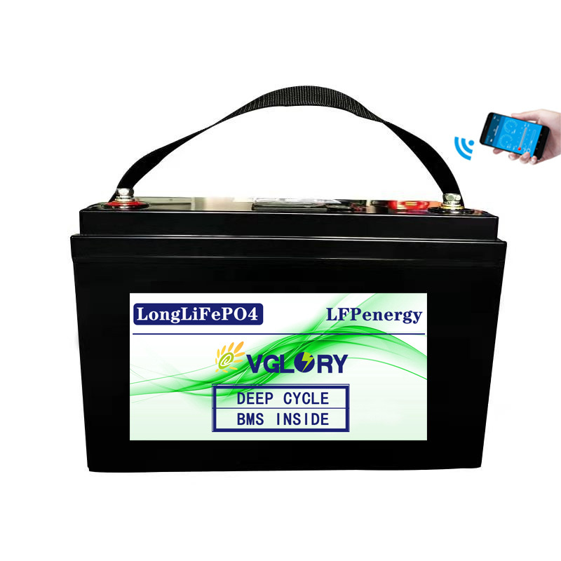 Cycle 12v Marine Components Lithium-ion 2 Years Warranty Original Liion Bms Lifepo4 Lithium Battery