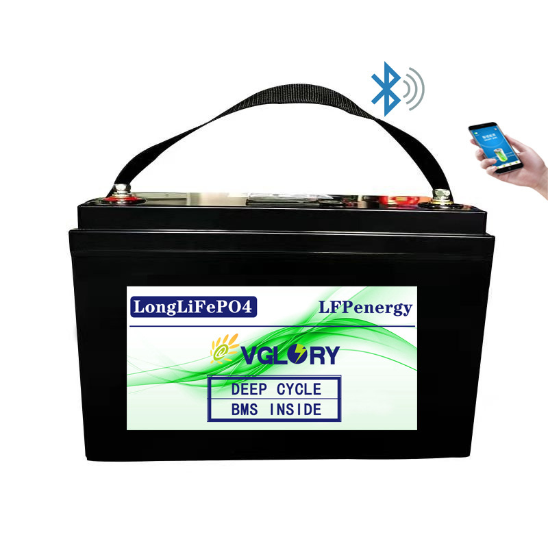Direct Li Ion 200ah Accu New Lithium 12v-200ah-lithium-ion-battery Rechargeable Bms Lifepo4 12v