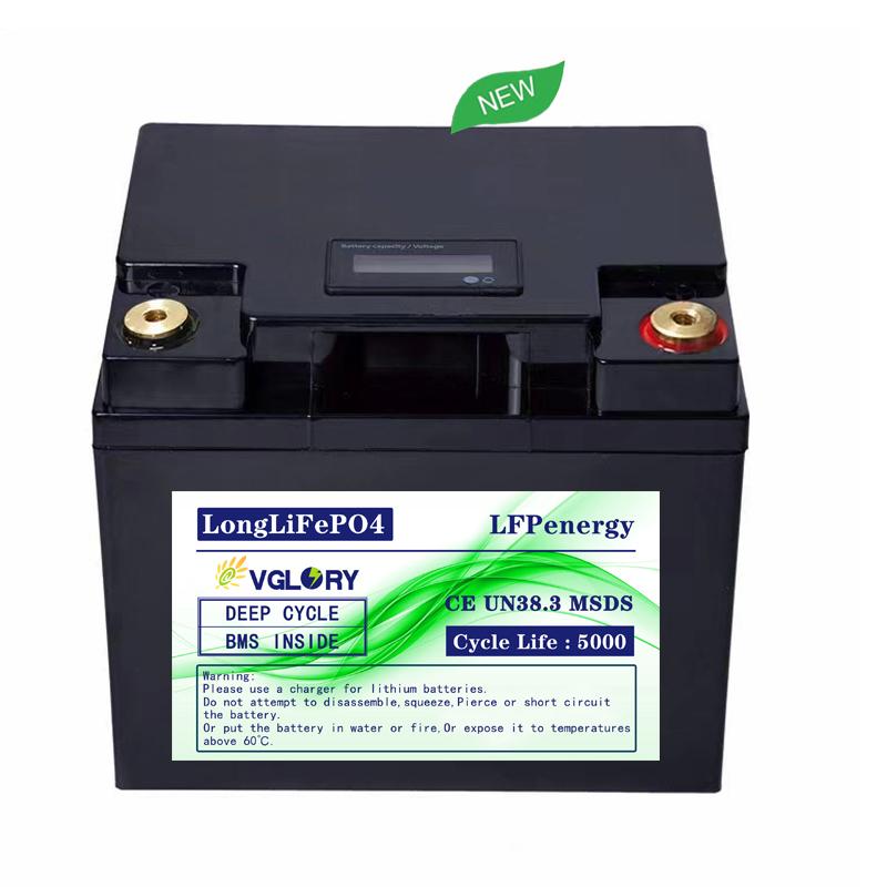 For Solar Part 24v 48v Light Weight Titanate Packs Lithium Ion Lifepo4Battery 12v 100ah Nar