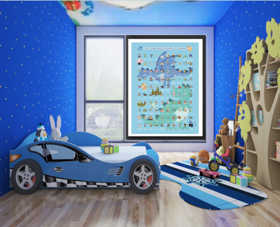 product-2020 Sctach Off Poster For Kids gift Childrens Day-Dezheng-img-1