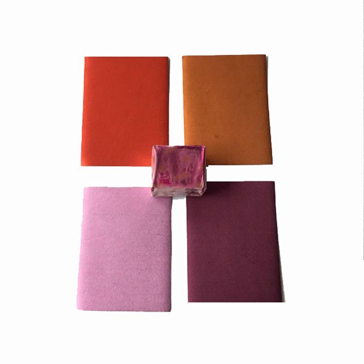 Colorful chocolate aluminum foil paper sheets
