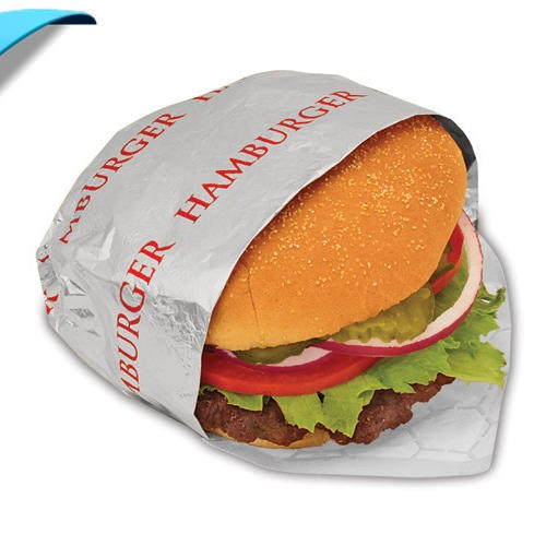 CustomizedInsulated hamburger wrap foil with paper backing Manufacturer in china