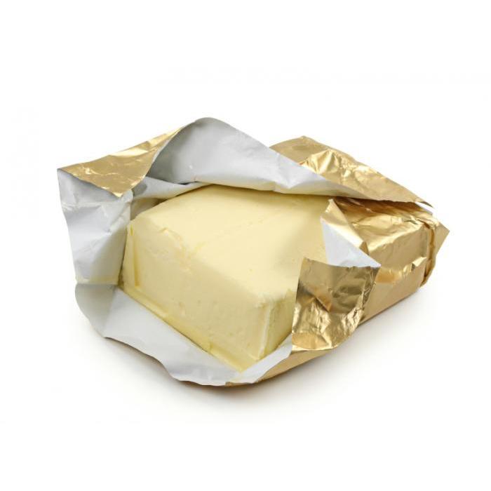 Food grade butter aluminum foil paper