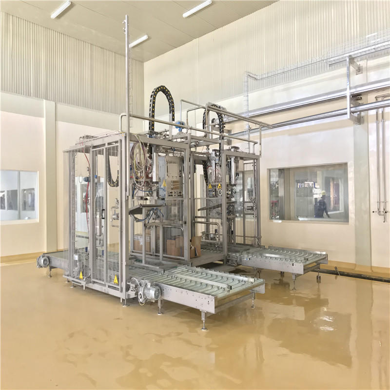 ZhangJiaGang 1000-3000 BPH Automatic Aseptic Juice Filling Machine Bag Filling Machine For Beverage