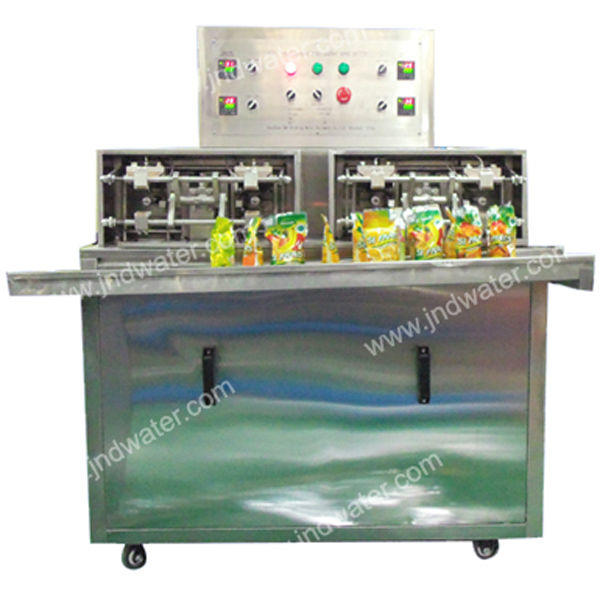 Semi-auto Bag Juice Mineral Water Pure Water Filling and Sealing Machine