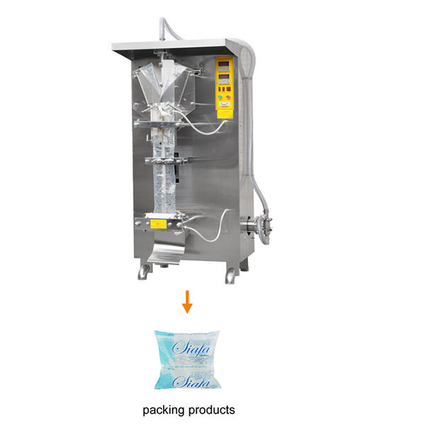 Automatic Water Pouch Packing Machine bag sealing filling machine