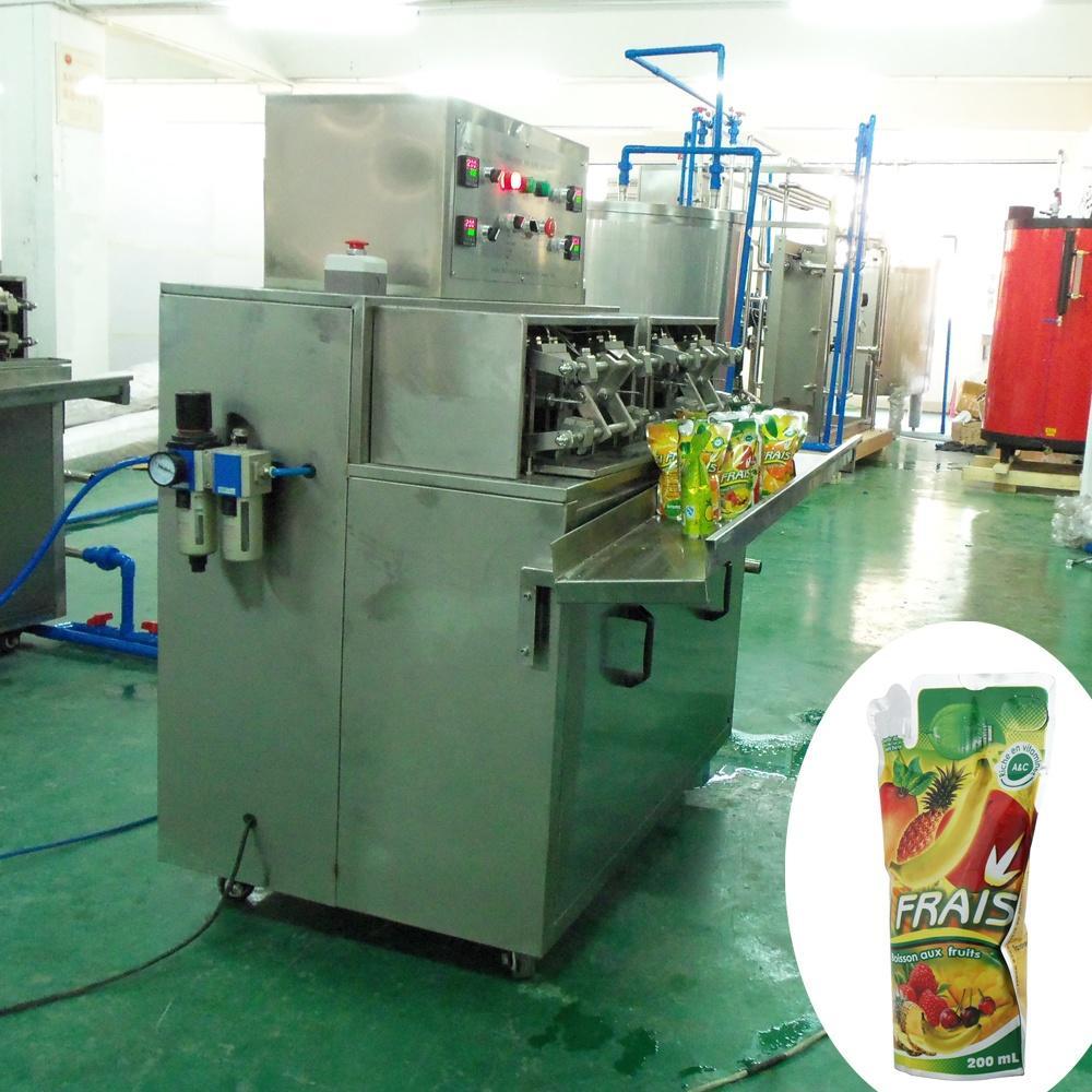 Good quality vertical semi automatic juice sachet filling machine
