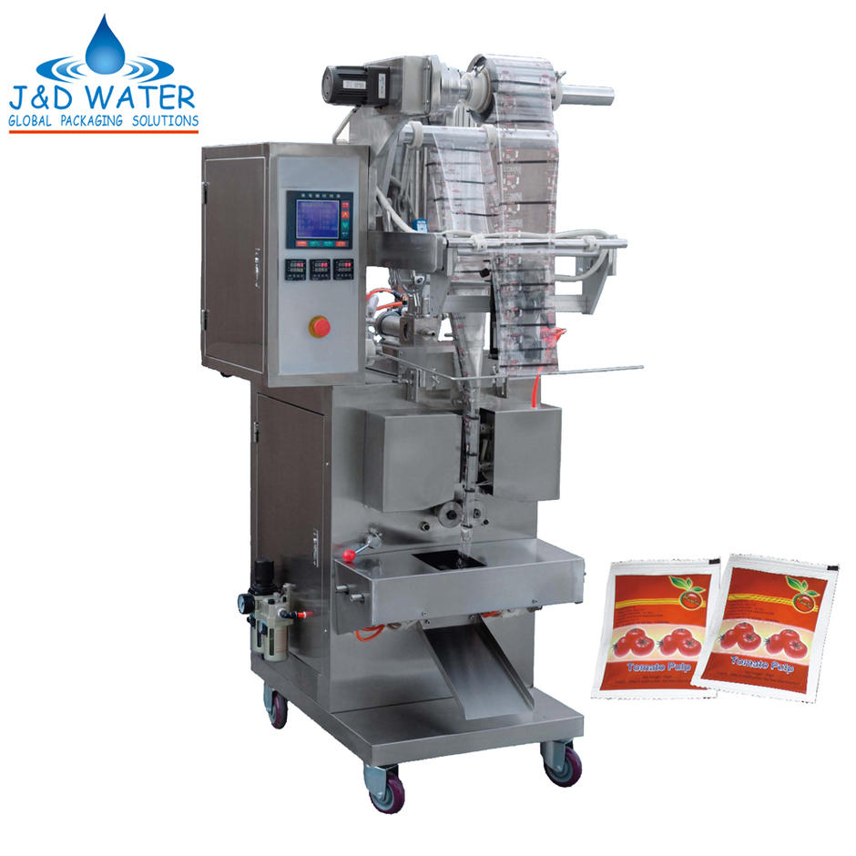 Hot Sale Durable 5-100ml Tomato Sauce Paste Filling Packing Machine