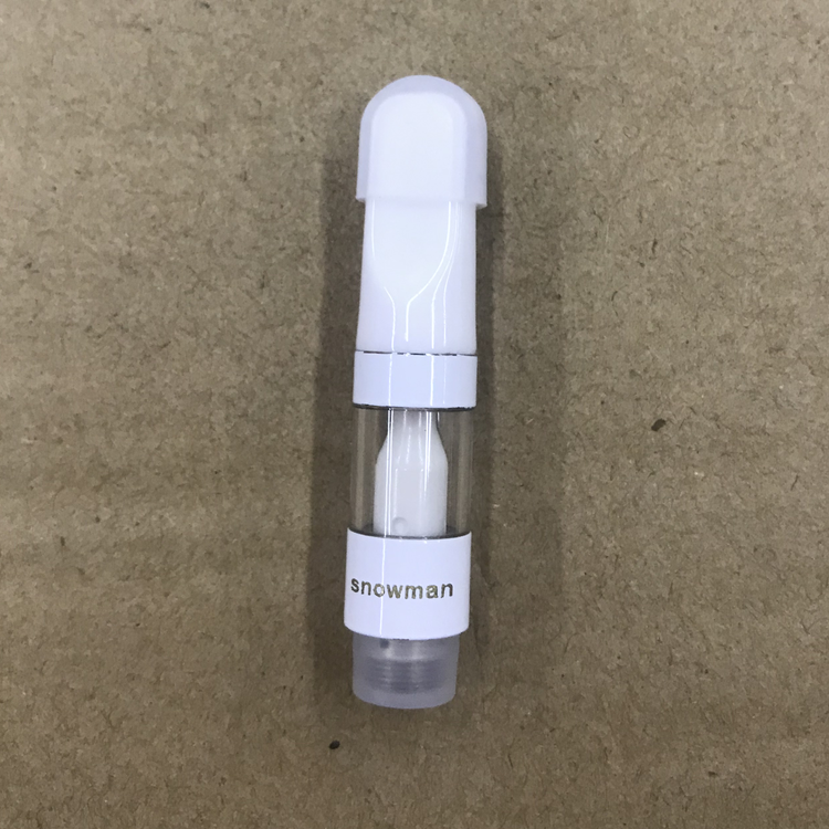 Full ceramic coil vape tank cbd cartridge
