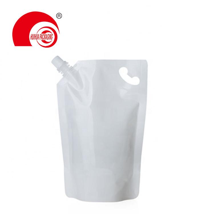 product-Huihua-Vacuum Metalized Aluminum Foil Liquid Storage Bag High Barrier Spout Pouch with Corne