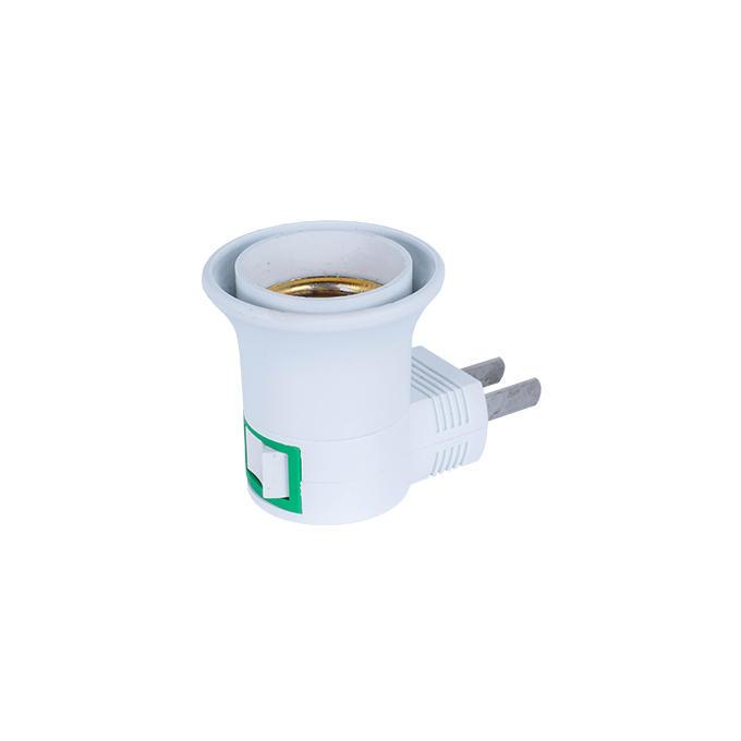 OEM A13-2 ETL ROSH approved night light socket American plug in lamp holder for acrylic night light