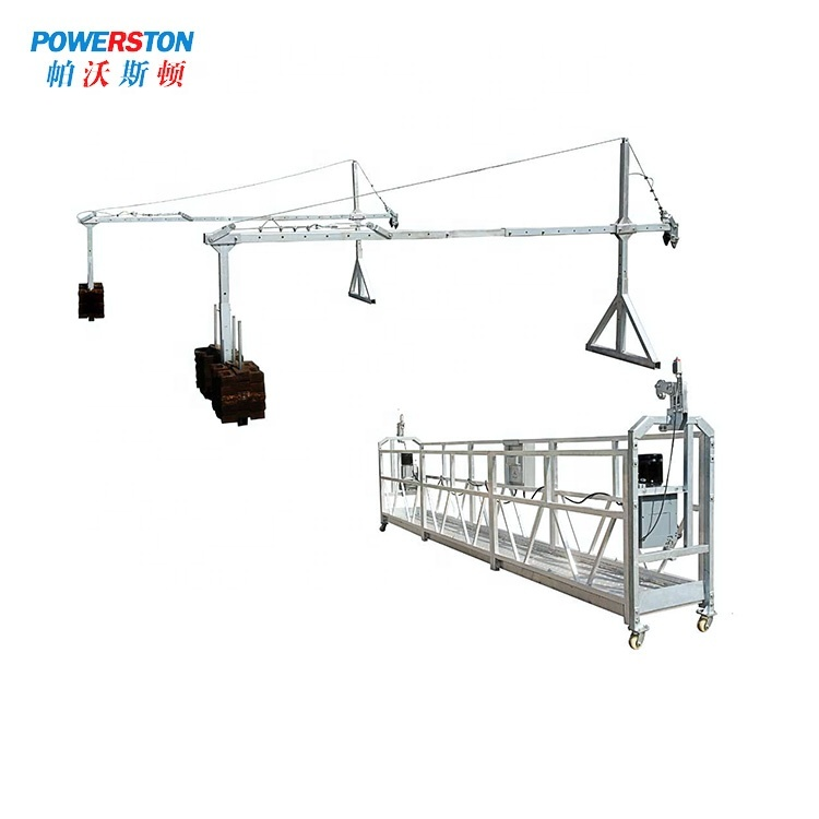 Steel Electric Construction Lift Platform BMU cradle