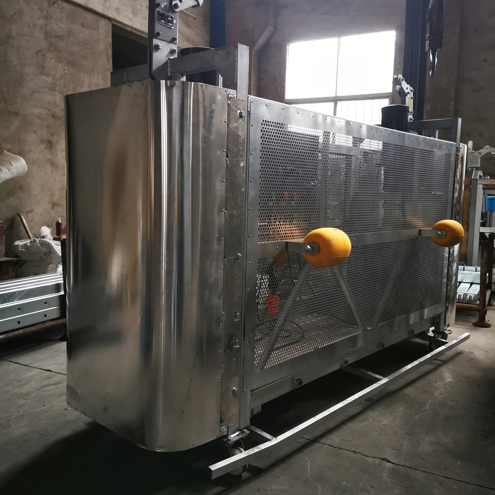 BMU Gondola Building Maintenance Glass Cleaning equipment