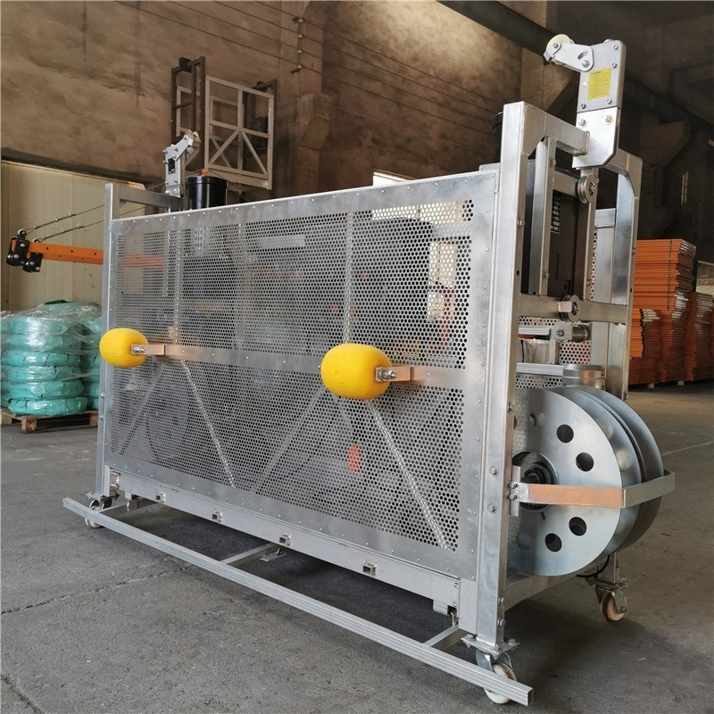 Building maintenance machine construction lift platform