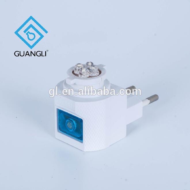 GL-082-GY4CE ROSH approved European plug E12 Sensor night light wall socket lamp holder lamp base