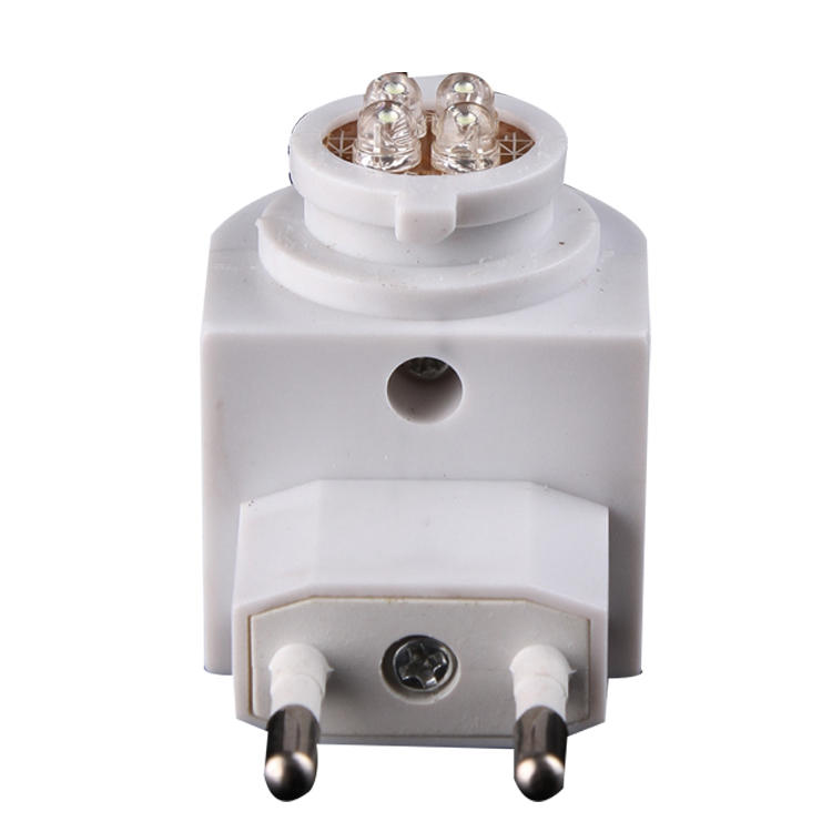 GL-082-4led holder socket for plastic socket decorative lamp holder with LED switch